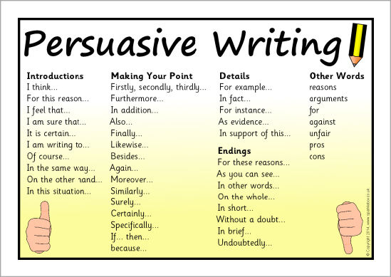 Persuasive writing every child is a seed waiting to sprout resource persuasive words expocarfo